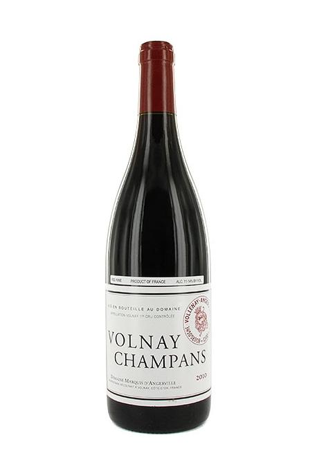 Marquis d'Angerville - Volnay 1er Cru Champans - 2012