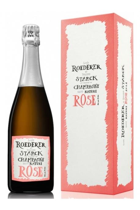 Louis Roederer Rosé édition limitée by Philippe Starck